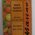 Luomusuklaa appelsiini 100g